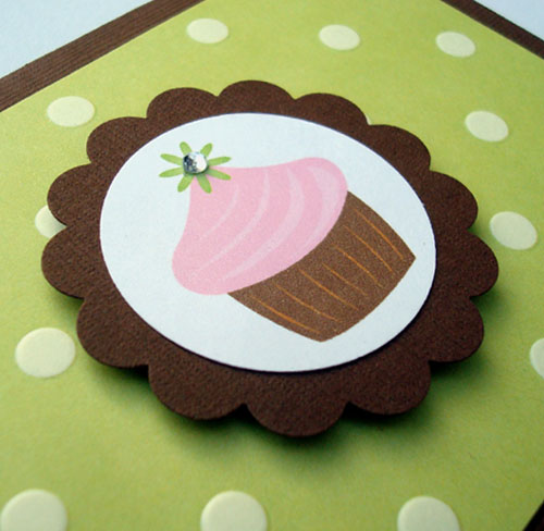 """Sweet Cupcake"" Note Cards"